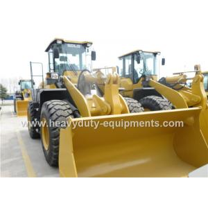 China Heavy Duty Axle 5 Ton Wheel Loader DDE Engine With Snow Blade / Air Conditioner on sale