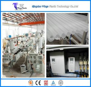 China Non Toxic Polypropylene Tube Extrusion Line / PP Extrusion Machine Light Weight on sale