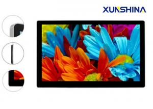 China LCD Advertising Wall Mounted Digital Signage Touch Screen For Metro Station on sale