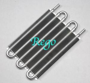China Universal Aluminum Transmission Oil Cooler Kit Auto Manual Radiator Converter on sale