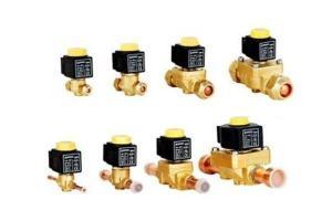 China Refrigeration Solenoid Valves 5/8ODF, Brass Electromagnetic Solenoid valve on sale