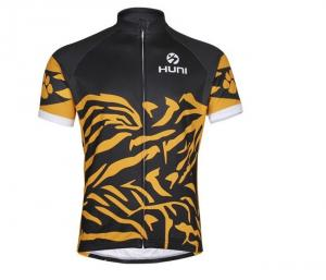 China new style of Huni men short-sleeves cycling jersey, breathable, quick-drying on sale