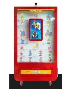 China LED Lighting Automatic Vending Machine / Smart Toy Vending Equipment on sale