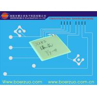 China Tact Water Proof Metal Dome Membrane Panel Switch Keypad With 3M Adhesive on sale
