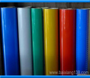 China commercial grade reflective sheeting(Acrylic type) on sale