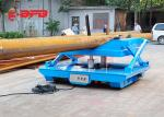 Rail Mounted Oil Hydraulic Scissor Lift Trolley With Operation Platform