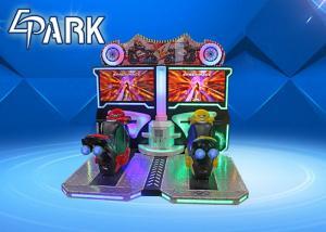 China 2 Plalyers Motorbike Racing Games / Motorcycle Arcade Simulator on sale