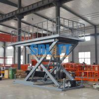 Heavy Duty Hydraulic Scissor Car Lift Table For Home Garage Car Parking Lifting