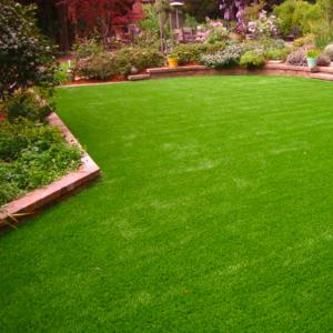 China Waterproof Artificial Grass Carpet / Green Artificial Turf Carpet SGS on sale