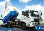 Caminhões XZJ5121ZXX do caminhão do saneamento, de lixo 6tons para carregar, o descarregamento, e o lixo da rua do transporte