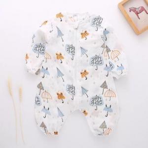 China Zero Formaldehyde Cotton Baby Pajamas , Organic Toddler Pajamas Healthy Portable on sale