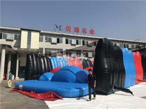 China Barry Customized Attractive Giant Jump Around Inflatable 5K Obstacle Course Race Successful Case on sale