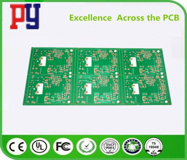 1OZ Copper Single Sided PCB Board OSP Surface Finish 1 2mm