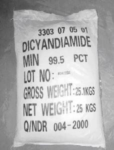 China Dicyandiamide (Cas no:461-58-5) on sale
