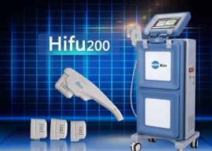 China 60w Face HIFU Machine Cartridge Family Use Home Laser Wrinkle Treatment Device on sale
