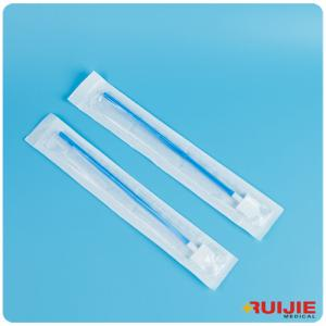 China Disposable Medical supplies blue plastic Cyto Brush- Broom Top Brush on sale