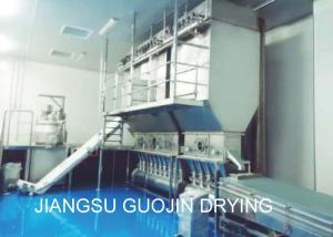 China HFBD Horizontal Continuous GMP Fluidized Bed Dryer on sale