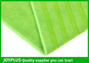 China High Absobent Floor Cleaning Cloth , Window Cleaning Microfiber Cloths Durable on sale