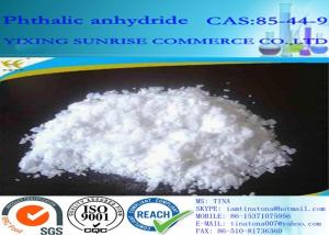 China Phthalic anhydride PA Plastic Plasticizers White Scale Powder CAS 85-44-9 supplier