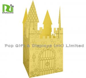China Cardboard Furniture Princess Castle Playhouse / Cardboard playhouse for Children on sale