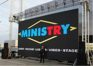 China Rental Mobile Led Display Full Color Video Screen , Led Mobile Billboard on sale