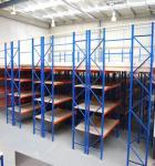 Custom Heavy Duty Steel Rack / Mezzanine Floor Attic Storage Shelves