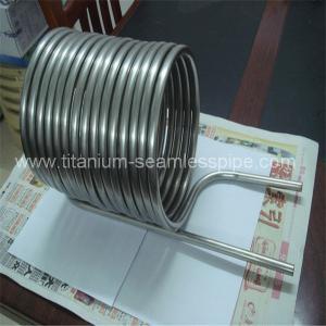 China Stainless steel Condenser coil/ titanium Condenser coil on sale