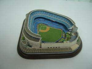 China Elegant and beartiful appearance polyresin Stadium 3D Model / models on sale