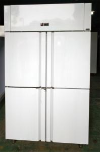 China Ventilated Upright Stainless Steel Fridge Freezer Bakery Freezer With 60x40 CM Shelf on sale
