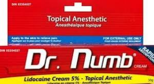 China OEM Dr.Numb Lidocaine Pain Relief Tattoo Anesthetic Cream on sale
