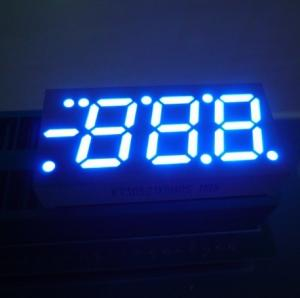 China Blue / Red / Green 0.52 Inch 3 Digit Seven Segment LED Display For Heating and Cooling on sale