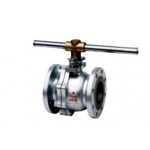 China Class 150 ~ 300 high pressure Stainless steel Floating Ball Valve ASTM A216 WCB, A351 CF8 on sale