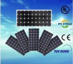 Vie mono du module 120W-160W 25Years de soalr de panneau solaire de certificat de TUV/IEC