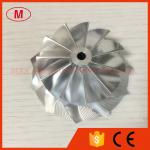 K04 11+0 blades 48.50/61.00mm high performance billet/milling/aluminum 2618 compressor wheel
