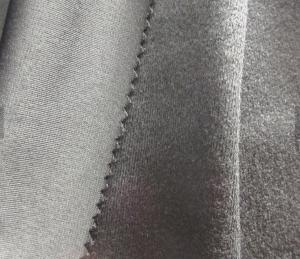 China Anti - Pilling Circular Knitting Machine Fabric Comfortable For Polyester Tracksuit on sale