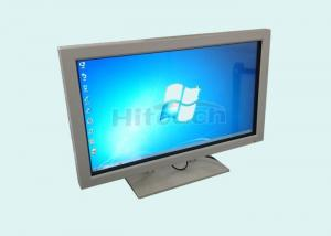China Infrared multi touch monitor, touch screen LCD TV 3 in one HT-LCD32I for business demo on sale
