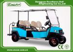 Electric Golf Carts With Italian Gearbox Sky Blue Easy Go Golf Cart