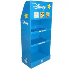 China Corrugated 3 Layer Cardboard Display Stands Customized Color Printing for Handbag on sale