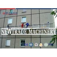 Exterior Wall Construction Suspended Working Platform Strong Power Zlp Series