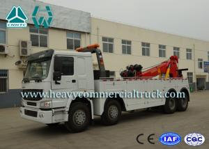 China Hydraulic System Fast Speed Rotatable HOWO Recovery  Truck Low Fuel Consumption on sale