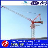 good performance price Yuanxin luffing jib tower crane price