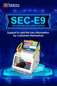 China Factory Price For Automobile, House Key SEC-E9 Key Cutting Machine on sale