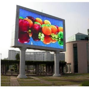 China Full Color IP65 High Brightness Led Display For Roadsides Billboard on sale