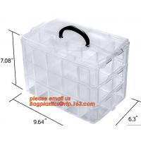 China plastic storage boxes, box plastic, plastic compartment storage box, Waterproof Plastic Storage Tool Box With Wheels on sale