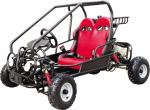 Red 90CC 4 Wheels Go Kart Buggy KD 110GKG-2 , 2 Stroke AND EPA Standard