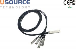 China Hybrid Passive DAC Cables Qsfp+ 10 Gbs 4x Pluggable Transceiver –Sff-8436 on sale