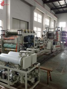 China High Speed Pvc Calendering Machine , Pvc Film Calender Machine Smooth Running on sale