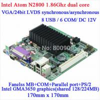 China ITX-H25_28 - Intel Atom N2800 Fanless mini-itx motherboard on sale