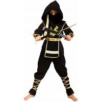 TV Costumes Teen Boy Popular Halloween Costumes Boys Golden Dragon Ninja Assassin Costumes