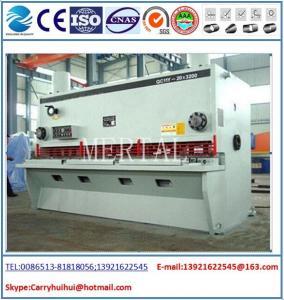 China Hydraulic Guillotine Shearing Machine , Hardware Steel Plate Cutting Machine on sale